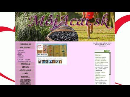 www.mojacai.sk