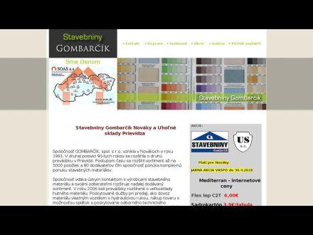 www.gombarcik.sk