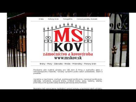 www.mskov.sk