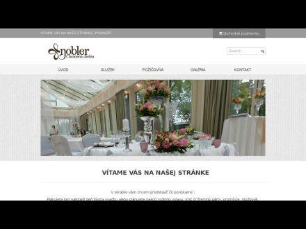 www.svadobne-dekoracie-nobler.sk