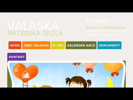 www.msvalaska.sk