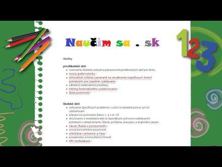www.naucimsa.sk