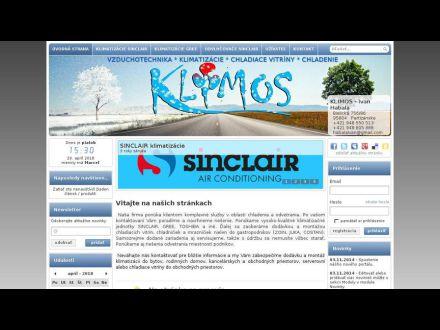 www.klimos.sk