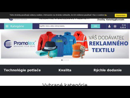 www.darceky.promotex.sk