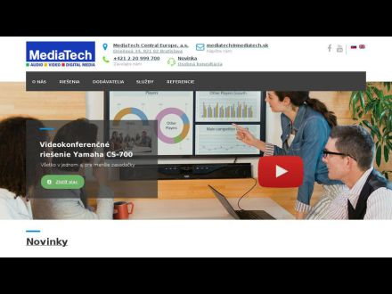 www.mediatech.sk