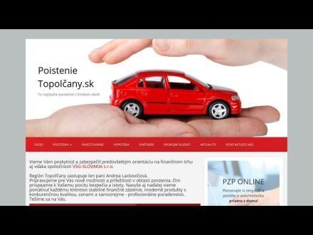 www.poistenietopolcany.sk