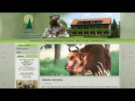 www.lesytopolcianky.sk