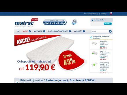 www.matraceshop.sk
