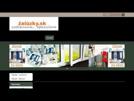 www.zaluzky.sk