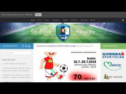 www.skzolikmalacky.sk