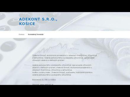 www.adekont.sk