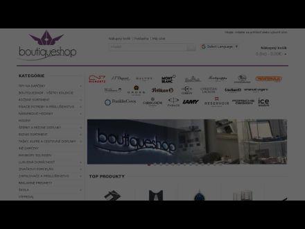 www.boutiqueshop.sk