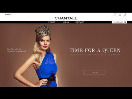 www.chantall.sk