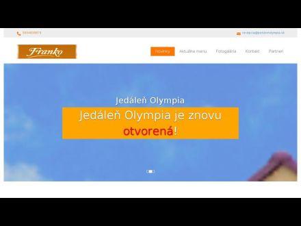 www.jedalenolympia.sk